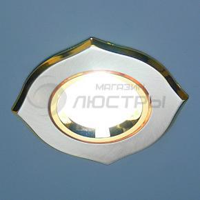 фото Точечный светильник 702A SS/G (сатин-серебро/золото)