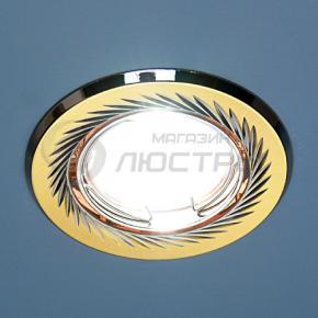 фото Точечный светильник 704  CX  MR16 SN/GD сатин никель/золото