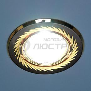 фото Точечный светильник 704  CX  MR16 GU/GD черный/золото