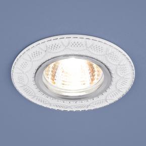 фото Встраиваемый светильник 7010 MR16 WH/SL белый/серебро