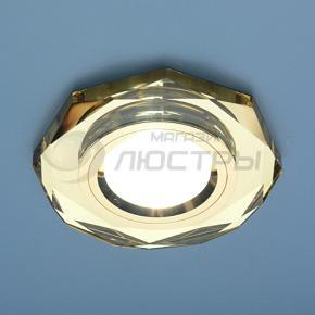 фото Точечный светильник 8020/2 YL/GD  (зеркальный золотой)