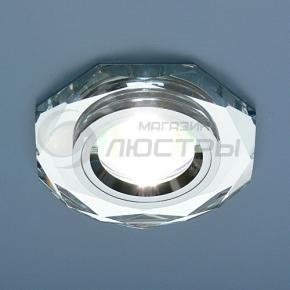 фото Точечный светильник 8020 SL/SL (зеркальный/серебро)