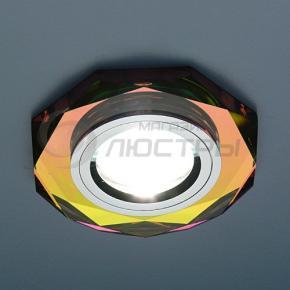 фото Точечный светильник 8020/2 MULTI/SL (зеркальный/мультиколор)