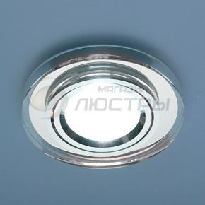 фото Точечный светильник 8060/3 BrCircle/SL (хром/прозрачный круг)