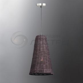 фото Подвесной светильник Н Ротанг 2-6220-1-BR E27
