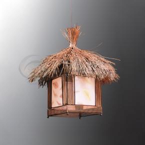 фото Подвесной светильник Н Ротанг 2-0102-1-BR E27