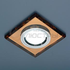 фото Точечный светильник 8170/2 BROWN/SL (зеркальный коричневый)