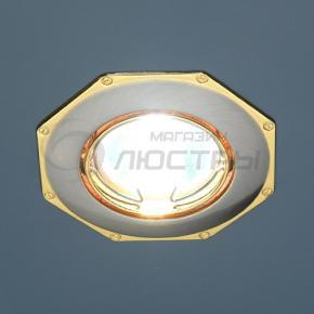 фото Точечный светильник KL735 SN/G  (сатин-никель/золото)