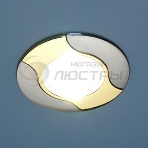 фото Точечный светильник KL737 SN/G (сатин-никель/золото)