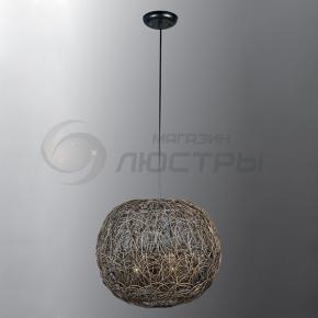 фото Подвесной светильник Н Ротанг 2-2090-3-BR E27