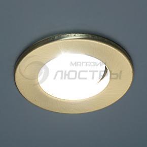 фото Точечный светильник 3224В R50 E14 зол. мат