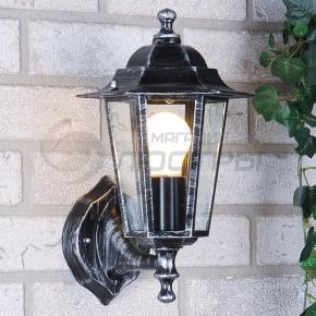 фото Светильник уличный настенный NX9701 3U черное серебро