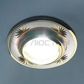фото Точечный светильник 301A  CF SS/G (сатин-серебро/золото)