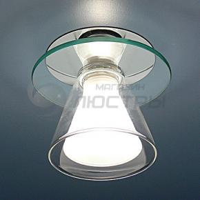 фото Точечный светильник G 9001 WH (хром/белый)
