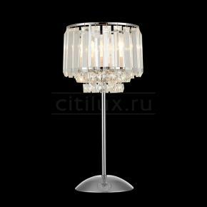 фото Настольная лампа Синди CL330811 Хром
