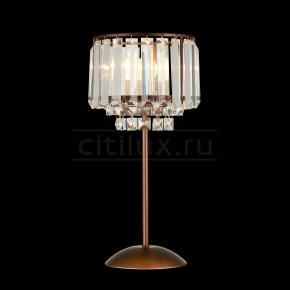 фото Настольная лампа Синди CL330813 Коричневый