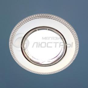 фото Точечный светильник 870A PS/N (перламутр. серебро / никель)