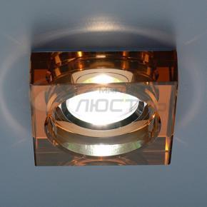 фото Точечный светильник 9171 BROWN/SL  (коричневый/серебряный)