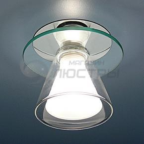 фото Точечный светильник G 9001 R (хром/красный)
