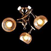 фото Люстра 3353/3Н золото/коричневый