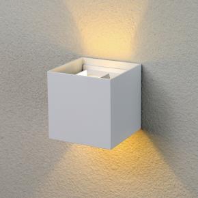 фото Уличный светильник настенный 1548 Techno LED Winner белый
