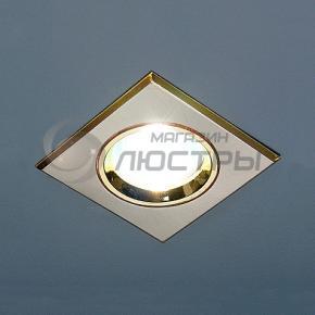 фото Точечный светильник 505A SN/G (сатин-никель/золото)