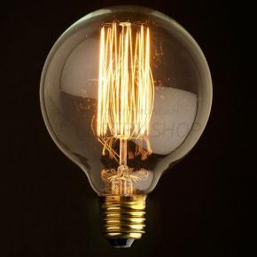 фото Лампа светодиодная диммируемая Шар Лофт 4W Е27 2800К