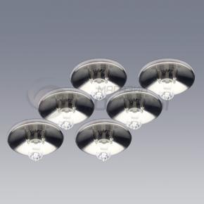 фото Точечный светильник. Комплект из 6 шт. Lyra G94530/13