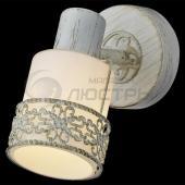 фото Светильник настенно-потолочный 20025/1 белый с золотом