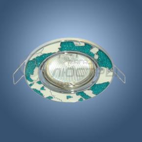 фото Точечный светильник 614A BL+WH (синий/белый)