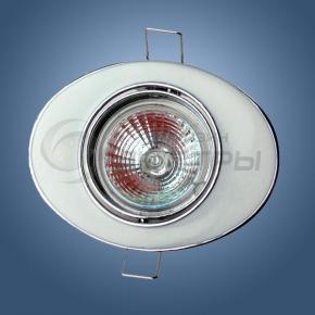фото Точечный светильник 618A WH (белый/стразы)