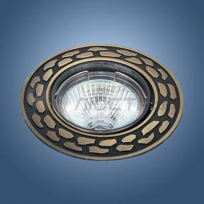 фото Точечный светильник 721 SB (бронза)