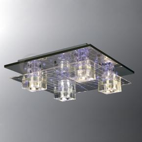 фото Потолочный светильник Г Панель 1-8080-4-CR-LED Y G4