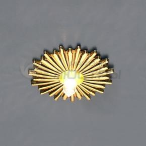 фото Точечный светильник 759 SG (сатин/золото)