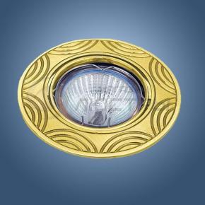 фото Точечный светильник 763 GD (золото)