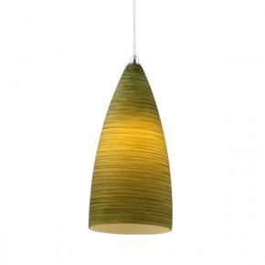 фото Подвесной светильник 37-821-01GR хром/зеленый