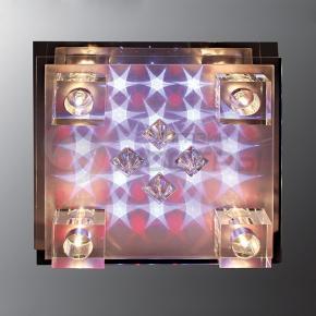 фото Потолочный светильник Г Панель 8946/4 CR LED Y пульт
