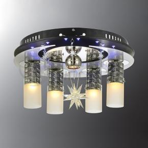 фото Потолочный светильник Г Панель 1-0009-5-BK+CR-LED Y Е27+