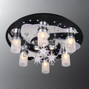 фото Потолочный светильник Г Панель 1-0120-9-CR+BK-LED Y Е27+
