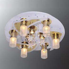 фото Потолочный светильник Г Панель 1-0120-9-FG+WH-LED Y Е27+