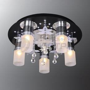 фото Потолочный светильник Г Панель 1-1103-6-CR+BK-LED Y Е27+