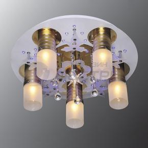 фото Потолочный светильник Г Панель 1-1103-6-FG+WH-LED Y Е27+