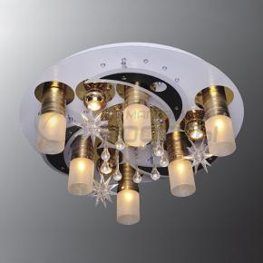 фото Потолочный светильник Г Панель 1-1105-10-FG+WH-LED Y Е27