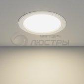 фото Светильник встраиваемый светодиодный круглый Elektrostandart DLS173