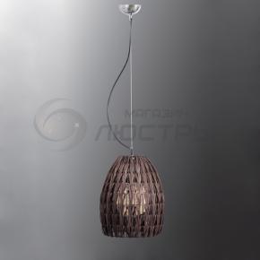 фото Подвесной светильник Н Ротанг 2-6470-1-BR E27