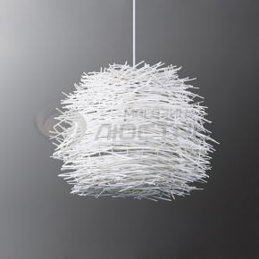 фото Подвесной светильник Н Ротанг 2-0107-1-WH E27
