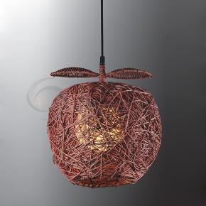 фото Подвесной светильник Н Ротанг 2-0500-1-BR E27
