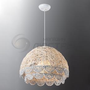 фото Подвесной светильник Н Ротанг 2-0894-1-WH E27