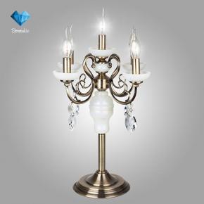 фото Настольная лампа 60055/5 античная бронза