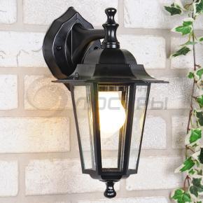 фото Светильник уличный настенный NX9701 3D черный